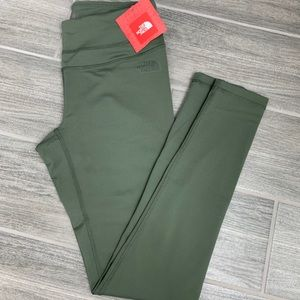 THE NORTH FACE OLIVE LEGGINGS